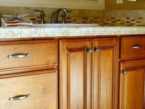 Bathroom Cabinet Refacing