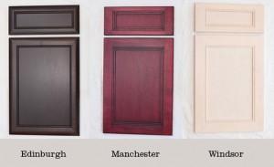 Deluxe cabinet doors