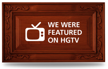 HGTV Triangle Cabinet Cures