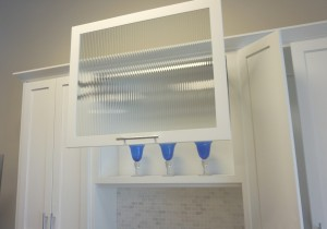Beveled Frosted Glass