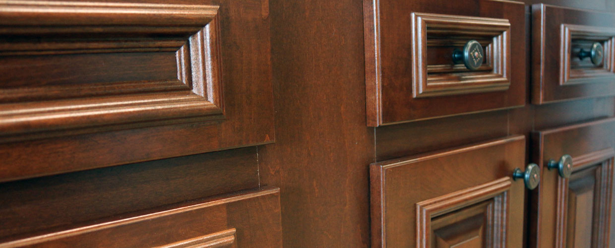 Wood-Cabinets Triangle Cabinet Cures