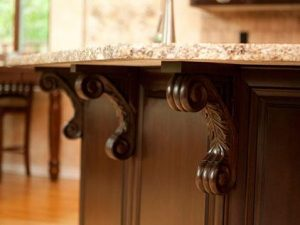 wooden corbels under counter triangle cabinet cures