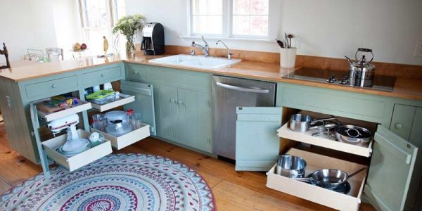 mint green kitchen cabinets triangle cabinet cures