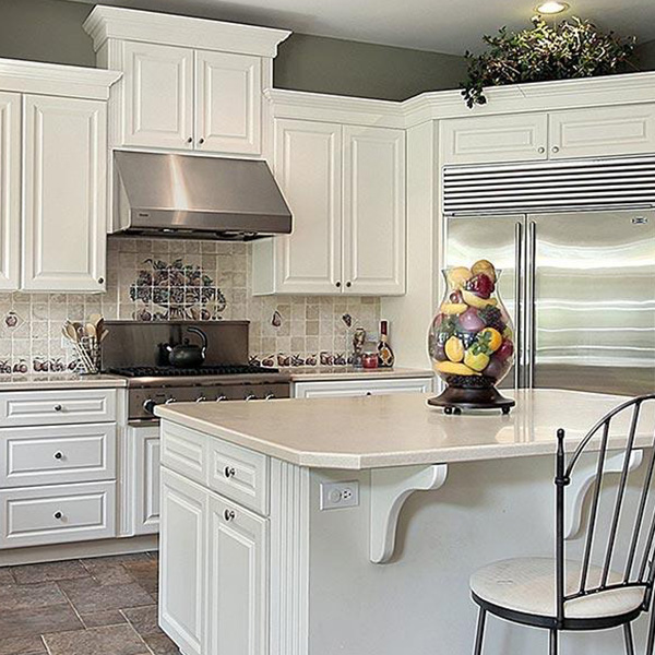 White Kitchen Cabinets Refinishing: Cabinet Refacing Vs Cabinet Refinishing