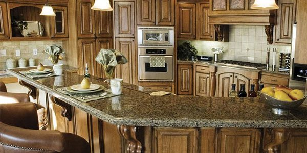 brown wood corbels kitchen bar wood kitchen cabinets granite countertop triangle cabinet cures