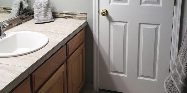 tile cabinet bathroom remodel