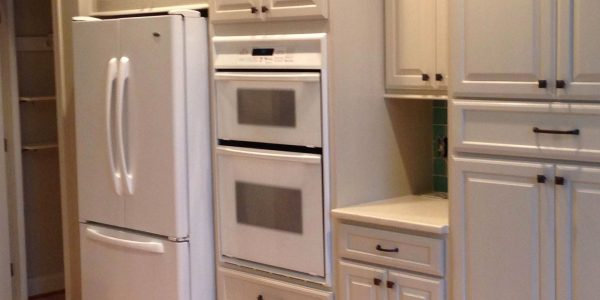 Triangle Cabinet Cures Refacing