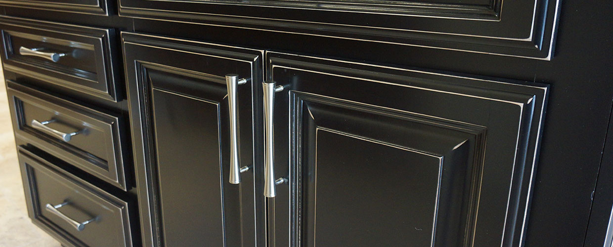 Black Cabinet Glaze by Cabinet Cures