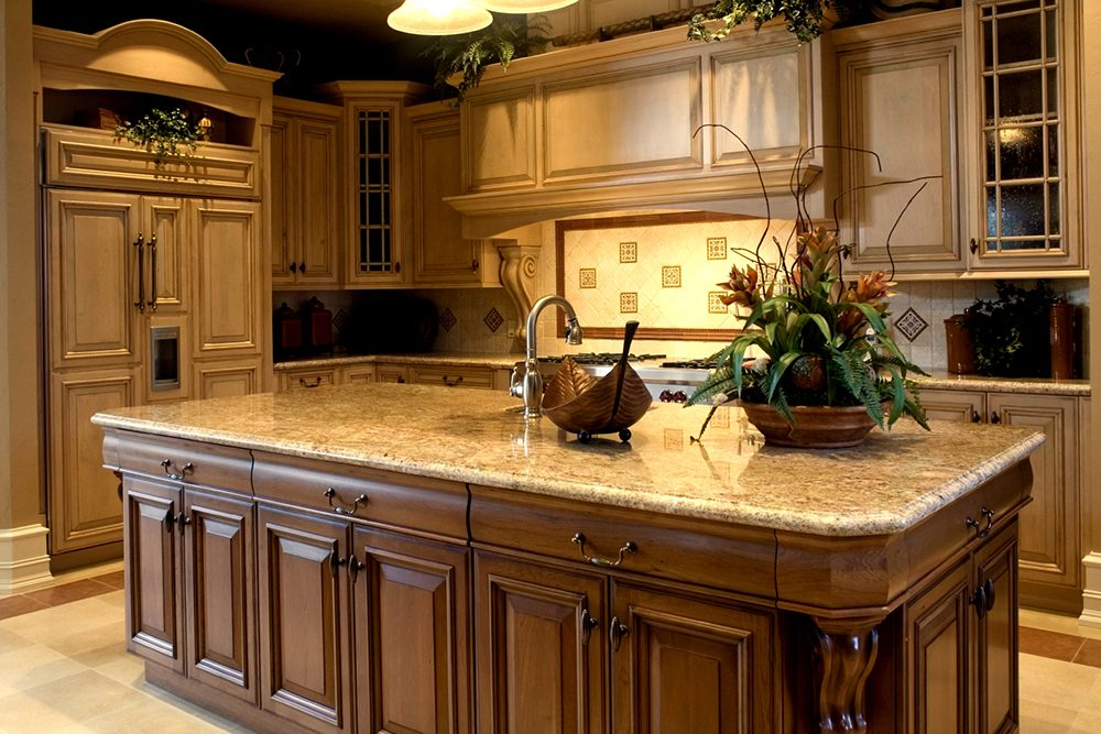 Old World Style Kitchen - Cabinet Cures of Raleigh-Durham